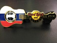 Hard Rock Europe Soccer Flag Series MOSCOW 2014 Pin. P3