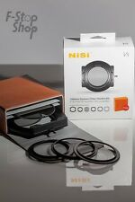 NiSi 100mm System V5 Filter Kit- 67 72 77 Adaptor Ring+82mm Holder