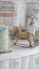 Pferd Karussellpferd Schaukelpferd Deko Dekoration Landhaus SHABBY chic gekälkt