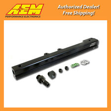 AEM High Volume Fuel Rail for 03-07 Mitsubishi Lancer Evo 8 & 9 4G63T, 25-131BK