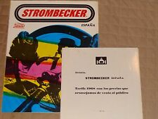 1968 STROMBECKER SPAIN Catalog and Price Booklet Slot Car Catalog Espana