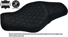 BLACK DIAMOND ST CUSTOM FOR HARLEY SPORTSTER 883 1200 TWO UP VINYL SEAT COVER