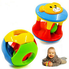 3 IN 1 Cute Handbells Musical Developmental Toy Bed Bells Kids Baby Toys Rattles