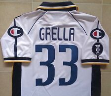 Authentic Champion Parma 04/05 UEFA Cup Player Issue Away Jersey - Grella 33.