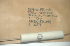 DALE RN80B3922F / 5905-00-686-3969 Vintage Resistor Date Code-6301 Quantity-5