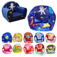 Kids Children's Comfy Soft Foam Chair COVER ONLY Toddlers Armchair Seat Sofa