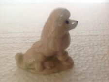 WADE WHIMSIES POODLE  NON-RETAIL CANADIAN TEA FIGURE NOT SOLD IN THE RETAIL LINE