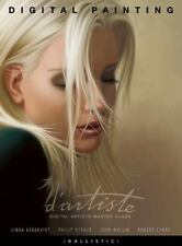 D'Artiste Digital Painting : Digital Artists Master Class by John Wallin Book