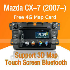 2 Din Car Dash DVD Radio Stereo GPS Navigation Bluetooth for Mazda CX-7 2010-