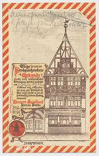 AK Darmstadt Brauerei-Ausschank L.Hess  gel. 1906    (7188)