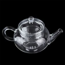 Heat Resistan Glass Teapot With Infuser Coffee Tea Leaf Herbal Pot 250ml SO