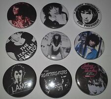 9 Johnny Thunders badges Jet Boy L.A.M.F The New York Dolls CBGB's punk scene