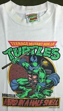 True Vintage 1988 TMNT Teenage Mutant Ninja Turtles Donatello Youth T-Shirt L