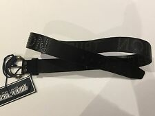 TRUE RELIGION MEN METAL STUDDED BELT BLACK YPYRSTDBLT NWT SZ-34 RETAILS $129