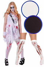 Bloody Prom Queen Teen Scream Halloween Fancy Dress Costume Carrie Tight F/Paint