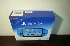 New Sony PCH-2000ZA23 PlayStation PS Vita Wi-Fi Console Aqua Blue From Japan