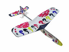 Lanyu Hand Launch Balsa Wood Glider Plane DIY Build&Paint Model Kit, US 7015