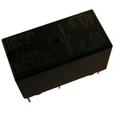 OMRON g5v2-24 relais 24v DC 2xum 2a 1152r relay for signal circuits 854068