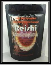 Reishi Mushroom Growing Habitat Log Pre Inoculated kit organic