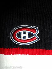 MONTREAL CANADIENS NAVY '47 Brand BEANIE TUQUE Hat Ice Hockey FORTY SEVEN G9