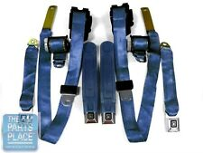 1978-81 Chevrolet Camaro / Pontiac Firebird Factory Seat Belt Set - Navy Blue