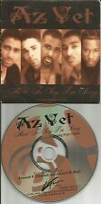 AZ YET w/ PETER CETERA Hard to Say w/RARE DAVID FOSTER USA CARD SLEEVE CD single