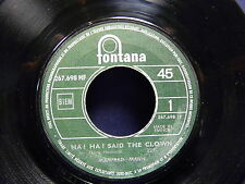 MANFRED MANN Ha ha said the clown / Feeling so good 267698 JUKE BOX