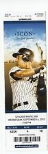 2013 YANKEES VS WHITE SOX TICKET STUB JETER 9/4/13 MARIANO RIVERA LAST HOME SAVE