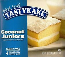 TASTYKAKE ~CAKES~COCONUT JUNIORS~4ct~FRESH