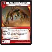 Kaijudo X3 SANDSTORM PROWLER Common #116/160 15VTX (Playset) Vortex DUEL MASTERS