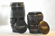 Canon EF 28-105mm 100-300mm 2 USM lens SET for EOS T5 T6i 40D 50D 5D 7D 60D 70D