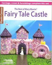 Fairy Tale Castle ~ plastic canvas book ~ Best of Mary Maxim ~ Leisure Arts