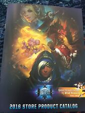 BlizzCon 2016 Store Product Merchandise Catalog Pricing Guide Overwatch Rare