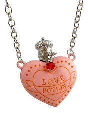 Harry Potter Love Potion Necklace, Movie Inspired Pink Heart shaped Bottle