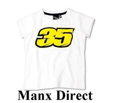 GENUINE OFFICIAL CAL CRUTCHLOW 35 WHITE KIDS T-SHIRT 10/11 YR RRP £29.99 MOTO GP