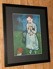 Child with a Dove - Pablo Picasso print - 20''x16'' frame, Masters paintings