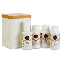 Orla Kiely Orange Caraway Minis Tin Includes 4 x 75ml Bath & Body Items Xmas