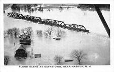 CPA ETATS UNIS D´AMERIQUE USA NEW HAMPSHIRE FLOOD SCENE AT GOFFSTOWN NEAR NASHUA