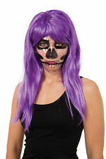 Transparent Mask Skeleton Print Day Of The Dead Halloween Fancy Dress