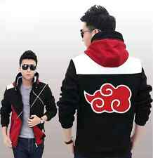 Anime Naruto Akatsuki Clothing Sweatshirt Casual Jacket COSPLAY Unisex Hoodie