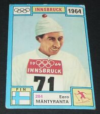 284 MÄNTYRANTA 1964 HIVER PANINI OLYMPIA 1896-1972 JEUX OLYMPIQUES OLYMPIC GAMES