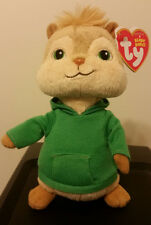 Ty Beanie Baby ~ THEODORE ~ Chipmunk from Alvin and the Chipmunks ~ MINT ~ NEW