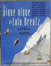Affiche LE PIQUE-NIQUE DE LULU KREUTZ Didier Martiny 40x60cm *