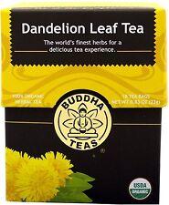 Dandelion Leaf Tea, Buddha Teas, 18 tea bag 1 pack