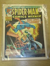 SPIDERMAN BRITISH WEEKLY #38 1973 NOV 3 MARVEL