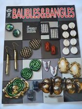 Baubles and Bangles by Susan Leader (1992, tri-fold pamplet)