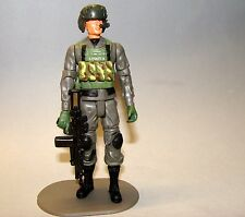 1:18 Combat Force Helicopter Pilot Crewman Figure  w/ BBI Elite Force Helmet