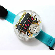 SCM LED Watch DIY LED Clock Digital Tube Electronic Crystal Table for Arduino