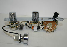 the ultimate fender telecaster TBX 5 way switching fully loaded control plate
