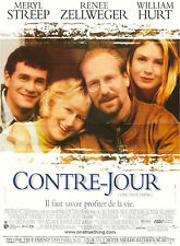 Affiche 120x160cm CONTRE-JOUR /ONE TRUE THING 1998 Meryl Streep William Hurt TBE